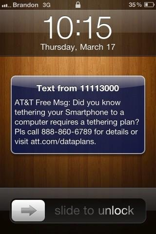 AT&T tells customers using unauthorized tethering methods to pay up or stop (update)