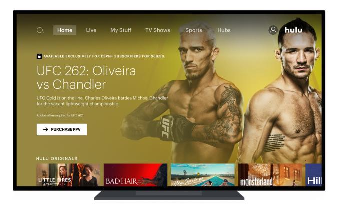 Hulu UFC PPV