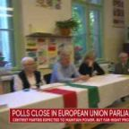 Polls close Sunday in European Union parliament elections