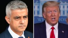 Sadiq Khan calls Donald Trump a 'disgrace' for calling Covid-19 'the Chinese virus'