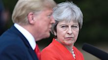 Trump suggests US and UK could strike a 'tremendous' trade deal after Brexit