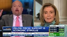 CNBC's Jim Cramer apologizes after calling Nancy Pelosi 'Crazy Nancy' to her face
