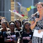 "Meghan Markle Just Gave a Powerful Speech, Telling the Women of Cape Town, I Am Here ""As Your Sister"""