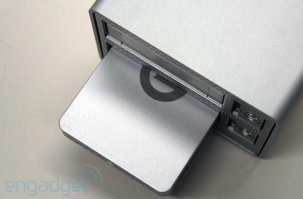 G-Technology shows off a Thunderbolt-powered dock with dual hard drive bays