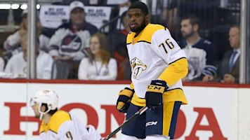 Subban faces Hall of Fame wideout on track