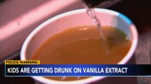 Georgia school warns parents about students getting drunk off vanilla extract