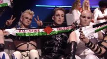 Iceland's act 'to be punished' after Palestine protest live on Eurovision Song Contest