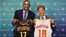The Atlanta Hawks have a jersey patch sponsor, and it's Dr. Oz (kind of)