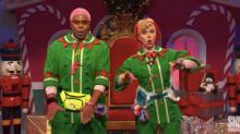 Check Out Scarlett Johansson's Hip-Hop Chops As A Singing Elf On 'Saturday Night Live'