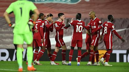 Champion Liverpool too much for Arsenal