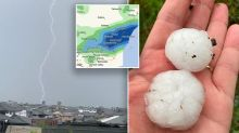 Severe thunderstorms to bring giant hail, heavy rain to NSW