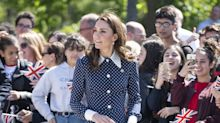 Kate Middleton Rewears Polka-Dot Dress to Commemorate D-Day's 75th Anniversary at Bletchley Park