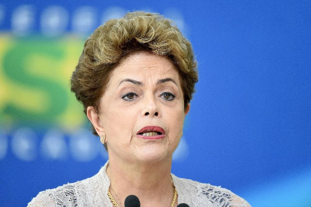 Brazilian President Dilma Rousseff admitted her government underestimated the magnitude of the economic crisis over recent years (AFP Photo/Evaristo Sa)