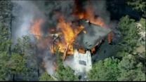 Homes burned in Colorado wildfire could reach 100