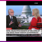 Conway slams CNN's Blitzer after he plays clip of her husband