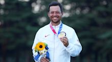 Schauffele wins gold, fulfills family dream