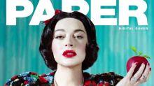 Lindsay Lohan poses as Disney princesses for Paper magazine