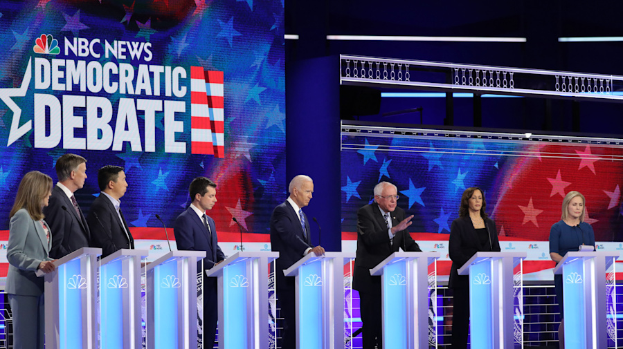 20 candidates to participate in 2nd Democratic debate