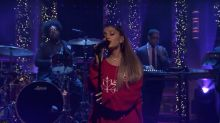 Ariana Grande and the Roots Bring Out the Soul in 'Imagine' on 'Fallon' (Watch)