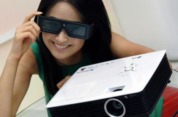 LG's 3D office projectors are ready to entertain the staff
