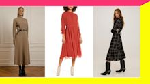 14 Stunning Midi Dresses To Take Your Look To The Max This Fall