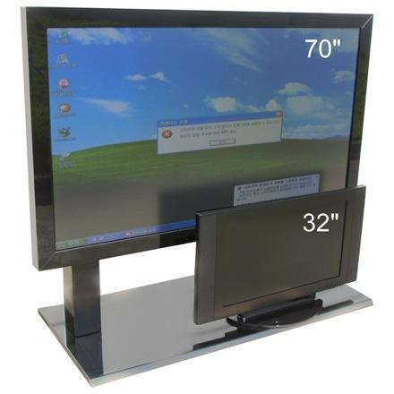 GPNC's 70-inch all-in-one touch-screen PC