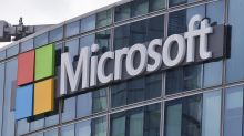 Shares of Microsoft soar after buyback announced