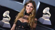 Grammys 2018: freizügiger Look von Heidi Klum
