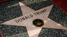Donald Trump's star on the Hollywood Walk of Fame smashed by man dressed as the Incredible Hulk