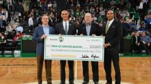 Celtics players team up with fans to raise $105,000 for #SunLifeDunk4Diabetes in support of YMCA of Greater Boston's Diabetes Prevention Program