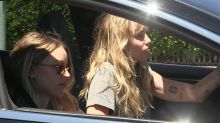 Miley Cyrus and Kaitlynn Carter Spotted in LA After PDA-Filled Vacation