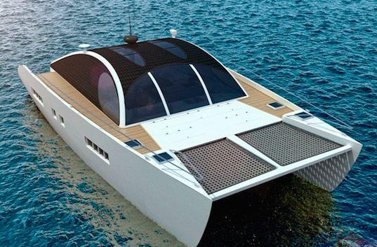Meet Marvin, the ginormous solar-assisted catamaran