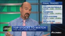 Final trades: KKR, Cisco Systems, Facebook, & Vulcan Materials
