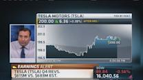 Tesla whips expectations