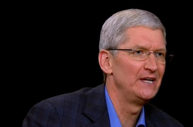 First hour of Tim Cook's interview with Charlie Rose is live