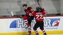 Patrick, Farabee score in third, Flyers beat Devils 5-3