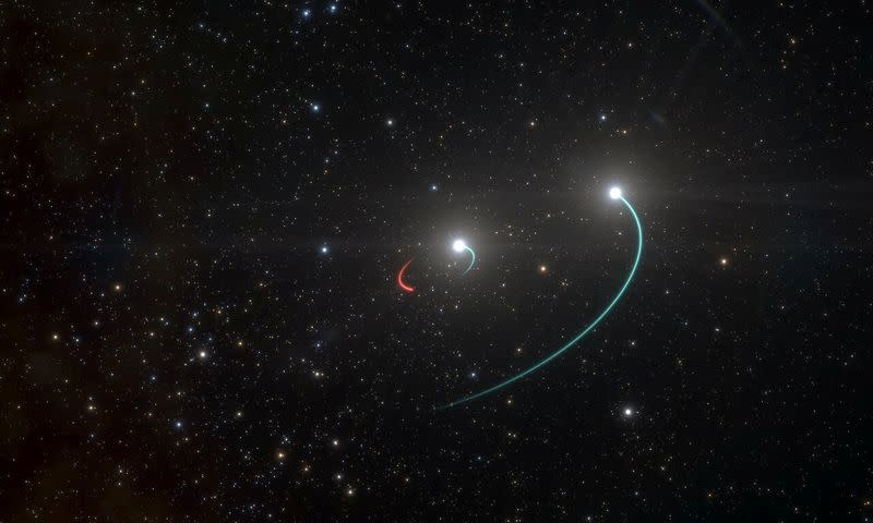 Closest black hole to Earth is discovered just 1,000 light years away