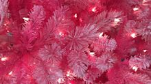 You need this pink Christmas tree in your life: Shop the best and brightest holiday accessories