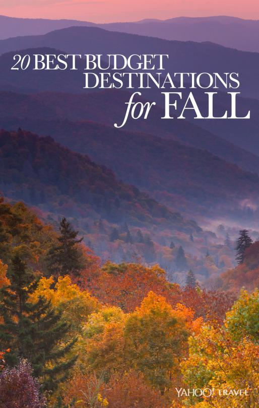 20 Best Budget Destinations for Fall