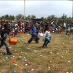 Thousands hunt for eggs at Spring Fest 2019 in southeast Fresno