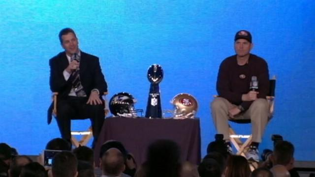 Super Bowl 47: Brother Against Brother