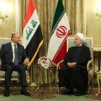 Rouhani sees Iran, Iraq expanding trade despite U.S. sanctions