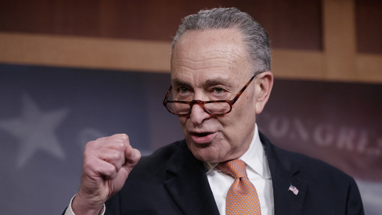 Schumer under fire after Democrats 'cave'