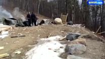 Raw Video: Moultonborough home explosion aftermath