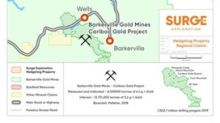 Exploration Update for Surge's Gold-Copper Property Near Barkerville BC - The Hedgehog Project