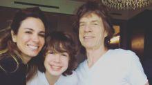 Luciana Gimenez se irrita com piadas sobre Mick Jagger 'pé frio': 'Time da Inglaterra não jogou bem'