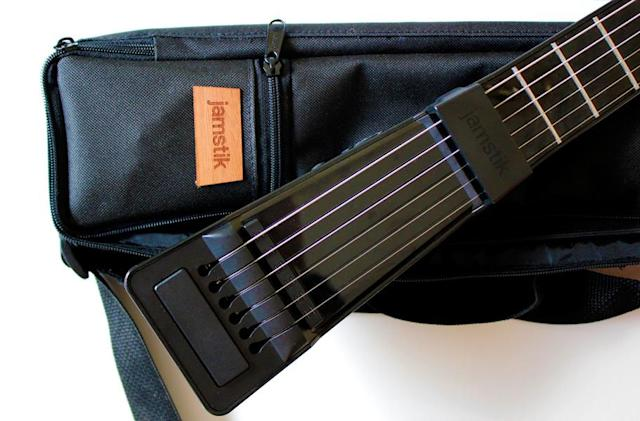 Jamstik+ is a backpack-friendly 'smart guitar'
