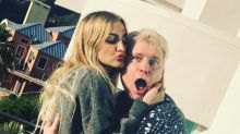 Ashlee Simpson Ross Sweetly Wishes Cancer Stricken Dad Joe Simpson Happy Birthday