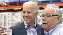 Biden, at Costco, calls for middle class tax cut