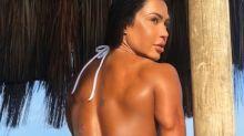 Gracyanne Barbosa diz não ser mais 'rival' de Viviane Araújo: 'Ela é muito mais do que um corpo'